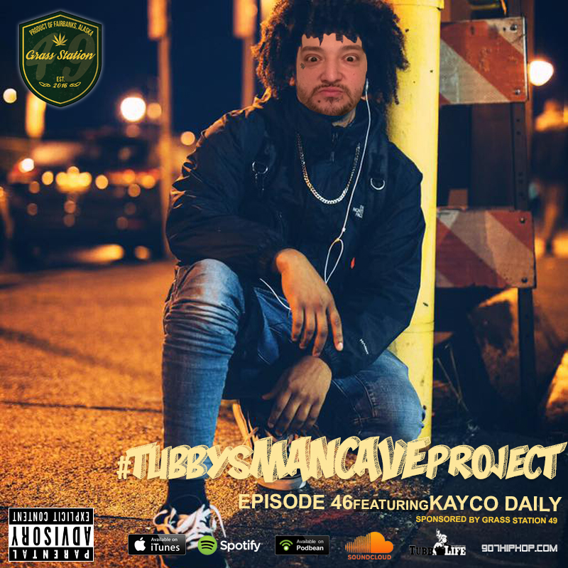 Episode 46 features special guest, Kayco Daily. This interview will go down as a local historical hip hop document. This one's for the real AK rap heads. Shout out to Kayco.   iTunes  /  Spotify  /  Soundcloud  /  Podbean