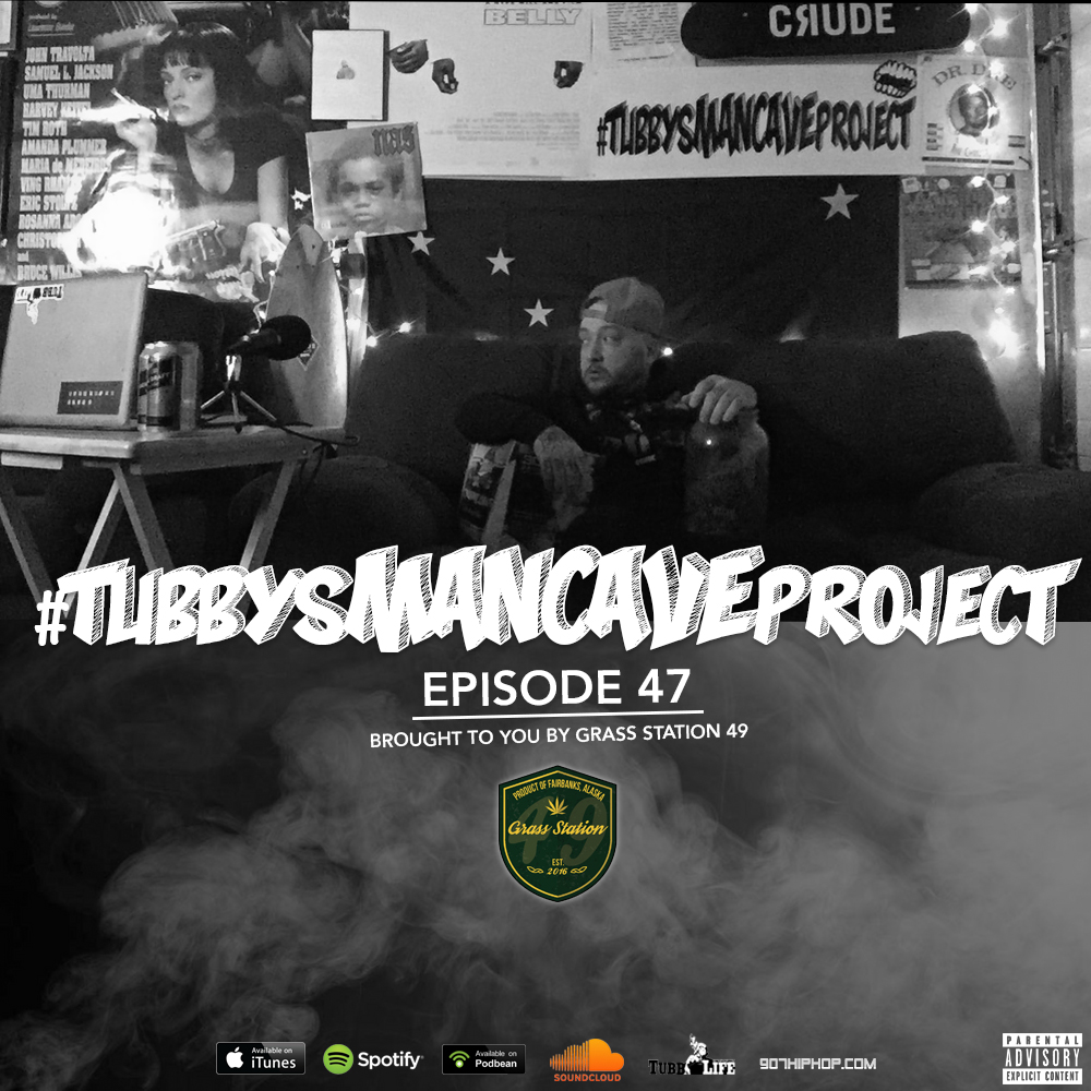 "Episode 47 features music from Darius, Cashlyfe Stevens, Maliq of Space League, Exiyle and Alaska Redd. Also, a list of upcoming events in Alaska, more ""Local Rapper Tweets"", and a list of music I'm listening to outside of local rap. Oh yeah, and I announce a couple dates for this year's Tubby & Friends show! It's time!  iTunes  /  Spotify  /  Soundcloud  /  Podbean"