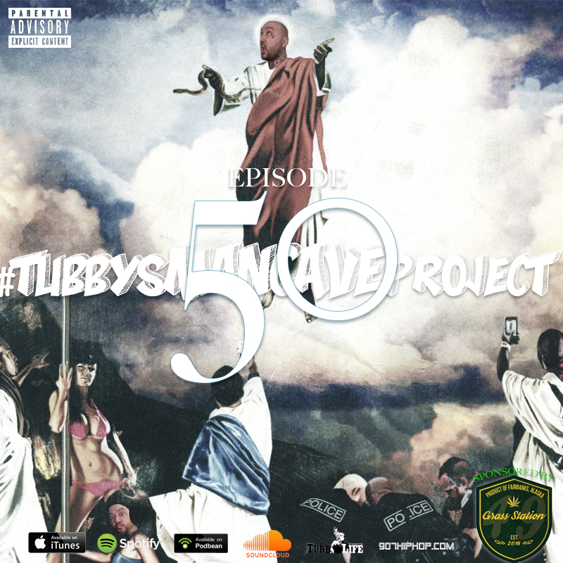 Episode 50 features music from King Coo, Ben Swann featuring Cemoni The Goddess, Keezy, Sk8 God, Josh Boots, Bishop Slice & yours truly.  Plus, details regarding the upcoming #TubbyAndFriends 4/20 Williwaw Show with Freddie Gibbs and Showdown Productions. Also, what really happened on my drive to Fairbanks last week that ended with me in jail. I'm an idiot. Thank you for listening!  iTunes  /  Spotify  /  Soundcloud  /  Podbean  /  Patreon