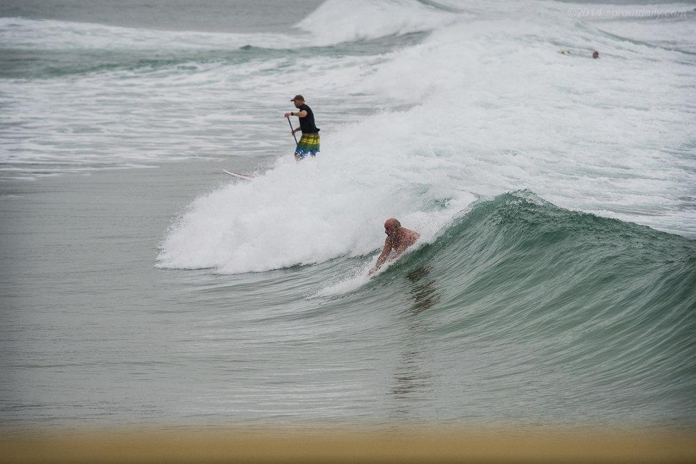 Sans Board Surfing