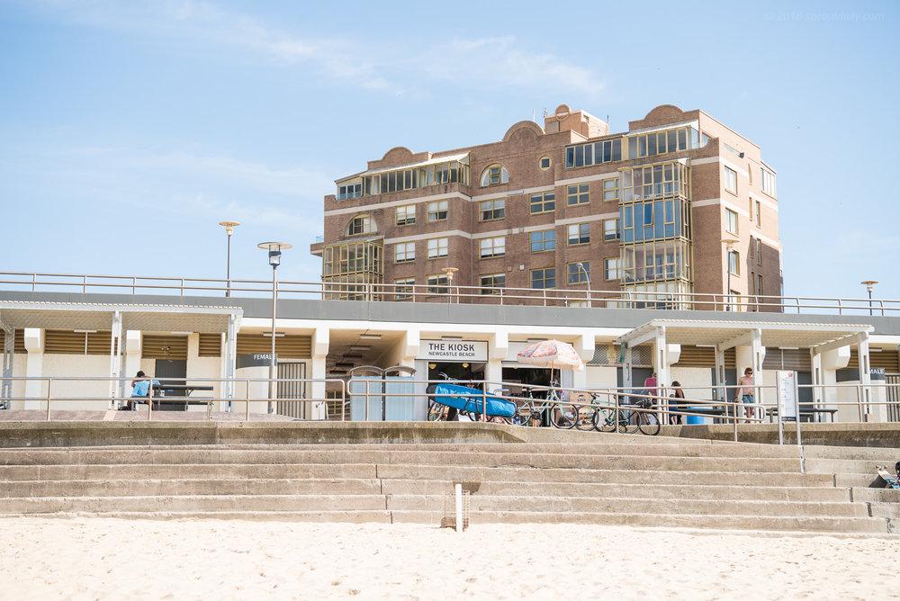 City Beach Front