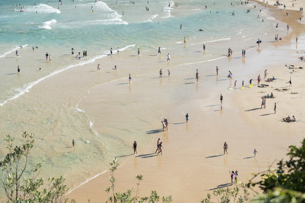 Freshwater Beach - Sunday just past