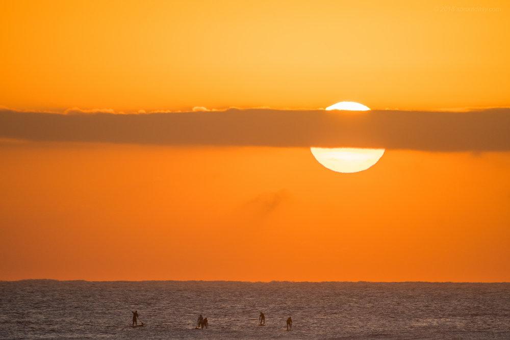 Sunrise SUP'ers