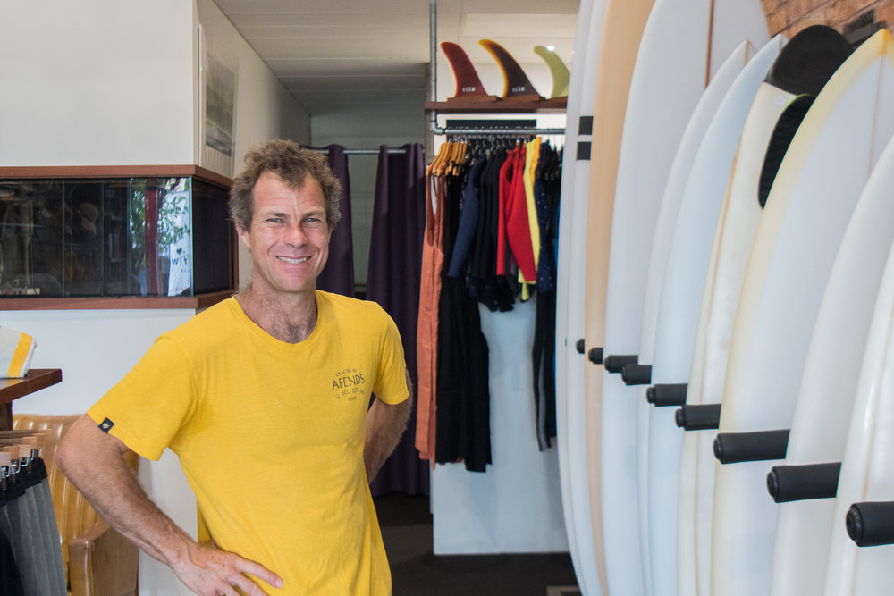 South Coast Soul -  Jed Done at Switchfoot Board Store