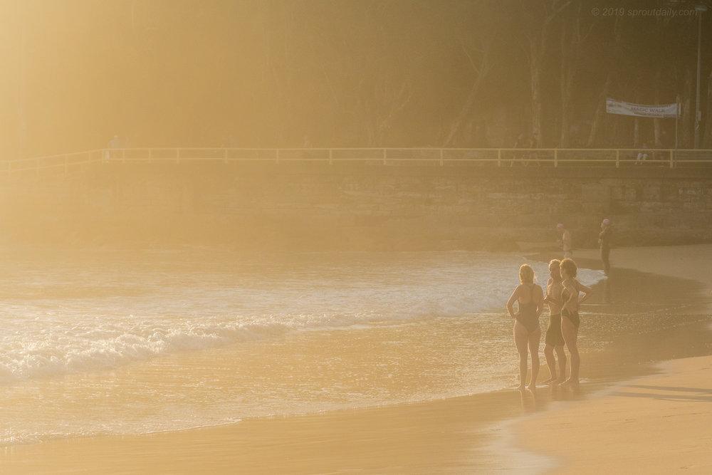 Summer Dawn Light - South Steyne