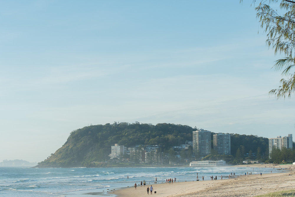 The Famous Burleigh Point - should have been here a week ago!