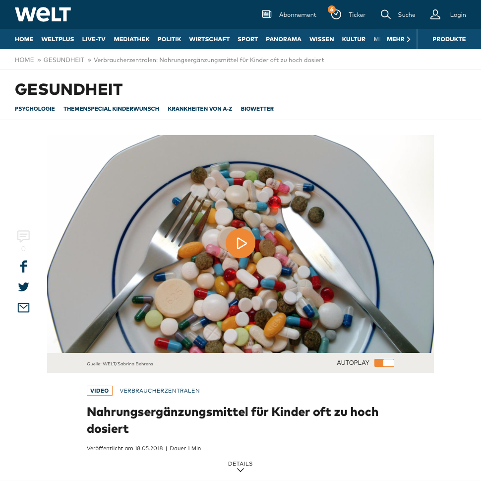 https://www.welt.de/gesundheit/video176516274/Verbraucherzentralen-Nahrungsergaenzungsmittel-fuer-Kinder-oft-zu-hoch-dosiert.html?wtrid=onsite.onsitesearch