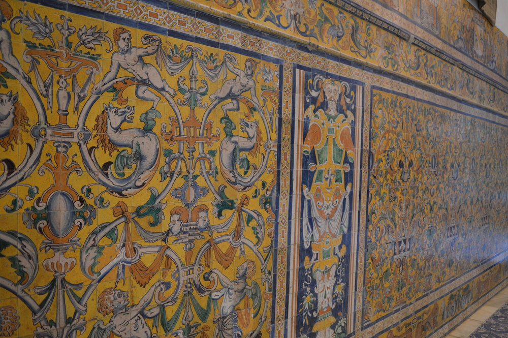 Tile work from Triana