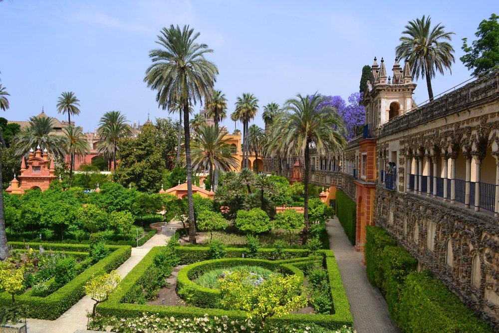 Citrus Gardens Alcazar Palace