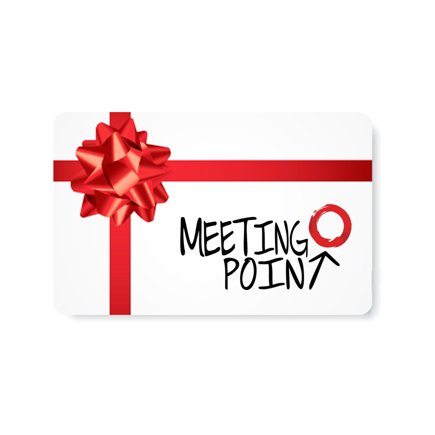 Meeting Point Gift Cards - Not sure which experience to give? We now offer digital gift cards which can be redeemed at check out toward any of our products or subscriptions.