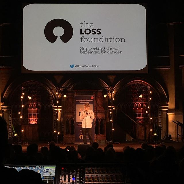#thelossfoundation #joshwiddicombe #videoprojection