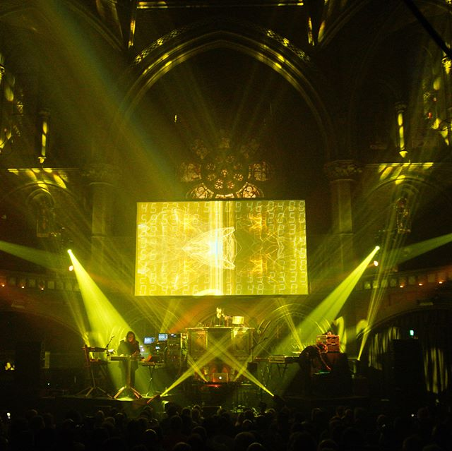 Tangerine Dream at the #unionchapel #videoprojection