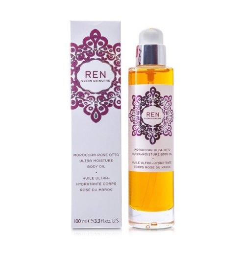 REN SKINCARE  MOROCCAN ROSE OTTO ULTRA MOISTURE BODY OIL   Rose otto is one of the most sought after essential oils because of its healing, anti-septic, anti-inflammatory, soothing and relaxing properties, making this one of the best body oils on the market right now.