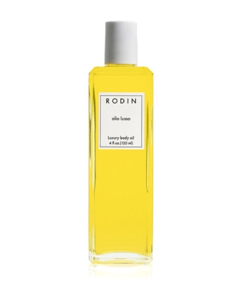 RODIN LUXURY BODY OIL   This is made with the same impossibly deluxe ingredients as the best-selling, life-changing Olio Lusso face oil. The incredibly moisturizing, beautifully scented (it's made with 11 plant and flower oils, from vitamin-C-packed neroli to evening primrose, rosehip, and calendula) body oil sinks into skin and truly leaves you glowing. Former model/stylist Linda Rodin created it; one look at her skin, and you'll want to have what she's having. Models, designers, stylists, photographers, and …pretty much everyone in the fashion industry is obsessed.