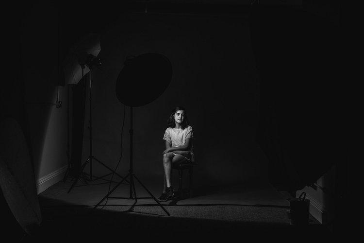Studio photography -