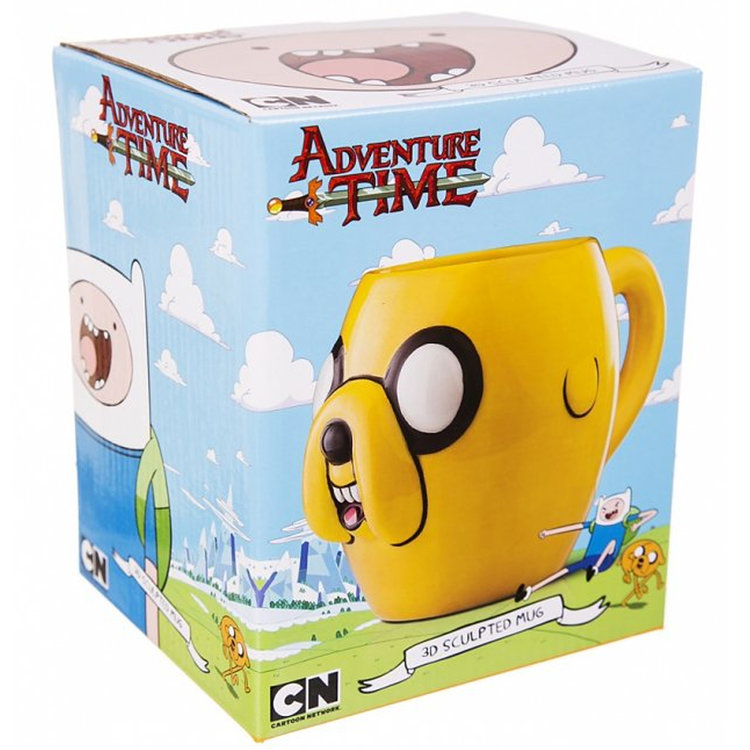 e5e20ffbb1d Adventure Time Jake 3D Mug — the television and movie store