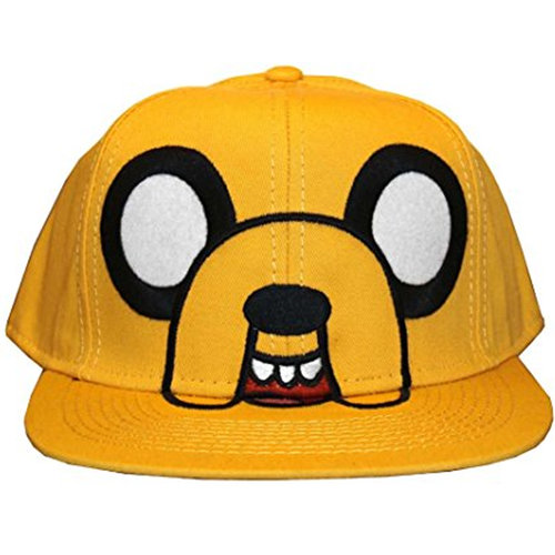 adf5cb4e136 Adventure Time Jake Face Baseball Cap — the television and movie store