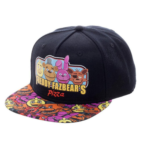 Five Nights at Freddy s Freddy Fazbear s Pizza Baseball Cap — the ... 5cf75212de8