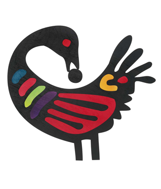 SANKOFA - That bird is wise.Look.Its' beak back turned picks for the present what is best from ancient eyesThen steps forward, on aheadTo meet the future undeterredSankofa is an Akan term that literally means,
