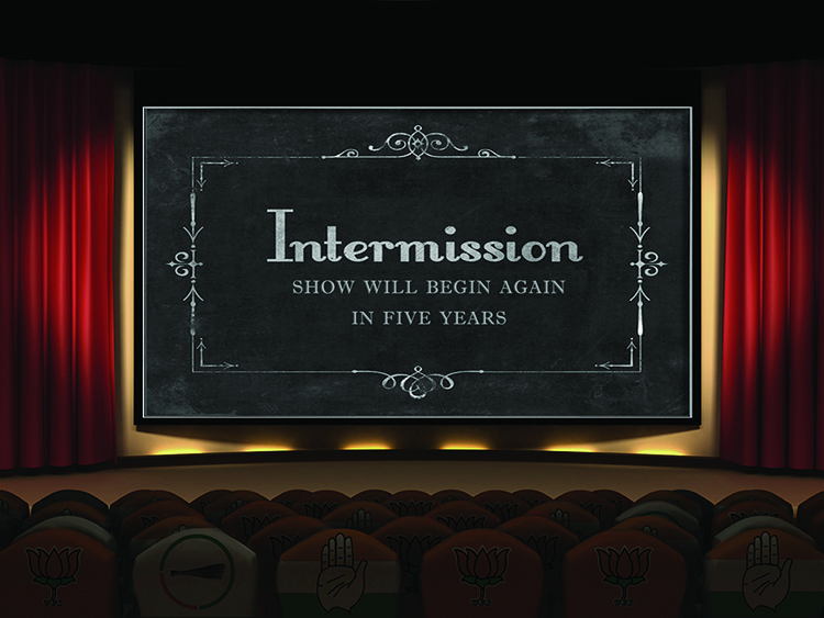 Intermission   in response to the Indian General Election June 2014