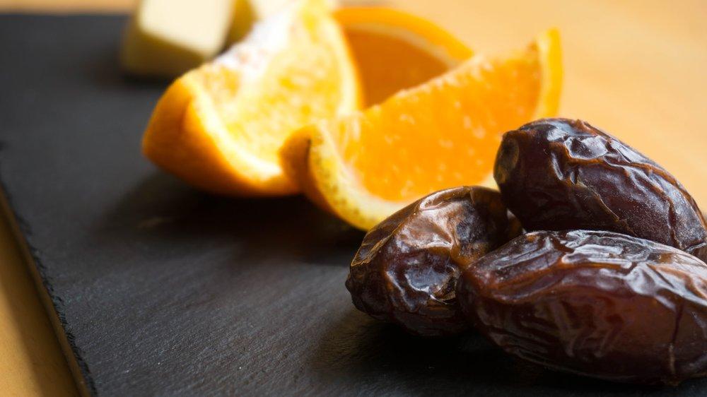 Date & Orange Scones