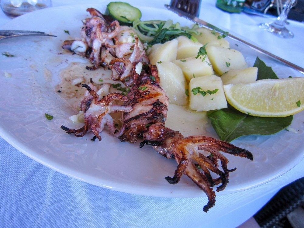Eating in Dubrovnik