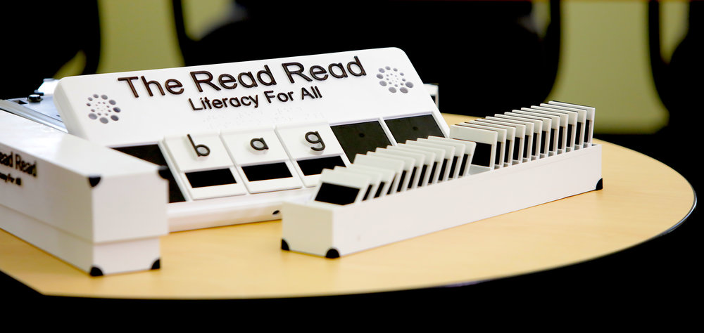 The Read Read™ with letter tiles