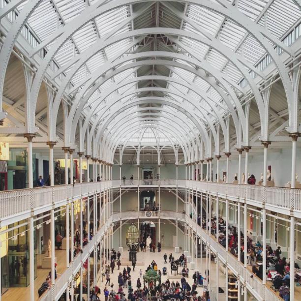 National Museum of Scotland gallery view, Edinburgh