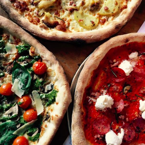 Civerinos pizza Edinburgh