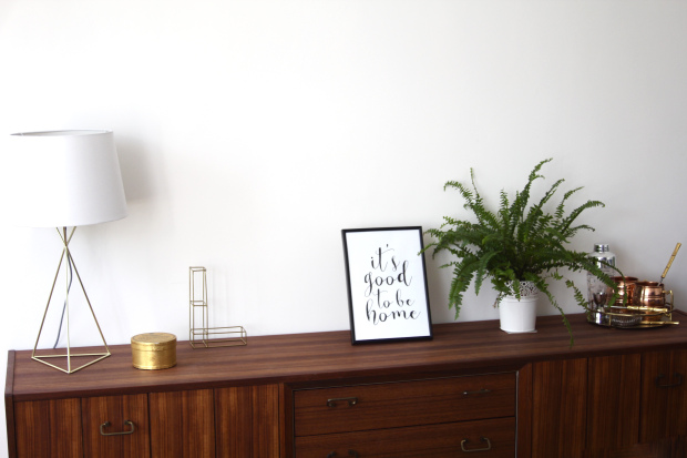 Styling a sideboard the style stories lifestyle blog