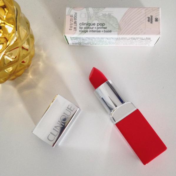 The Style Stories Clinique Pop Lip lipstick Poppy pop