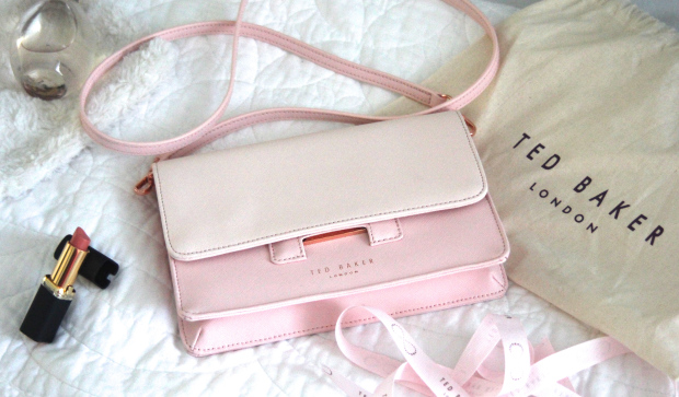 The Style Stories pink Ted Baker handbag