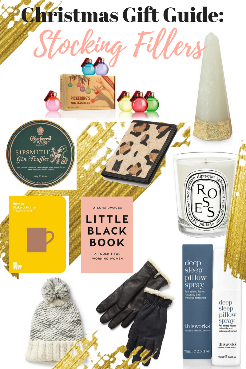 the style stories christmas gift guide stocking fillers secret santa gift ideas