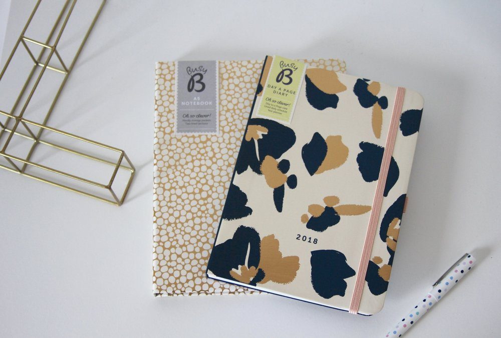 the style stories busy b stationery 2018 diary