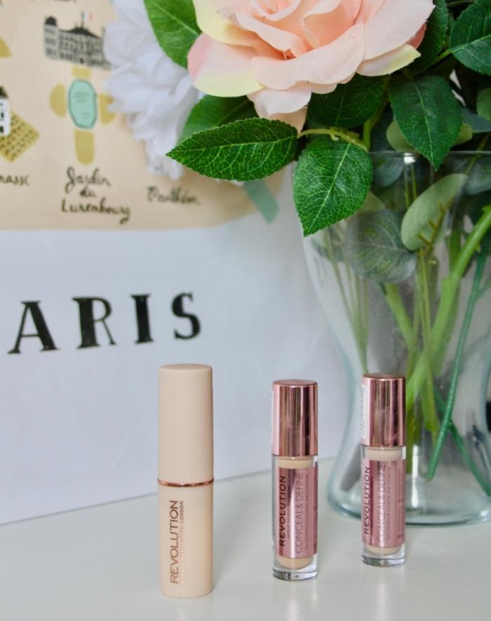 makeup revolution fast base foundation concealer review
