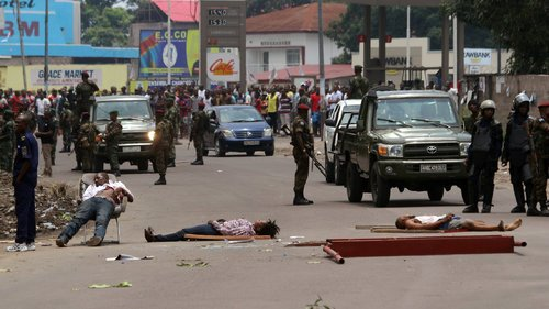 Executed protesters in the capital of Congo Kinshasa. https://www.nytimes.com/topic/destination/congo