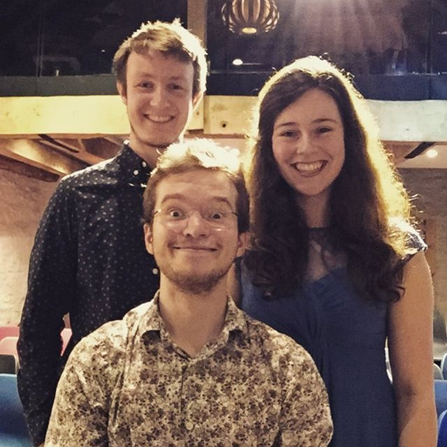 A photo of us after playing to a wonderful audience in Sophie's Barn last night to round off our Spring Tour!! For information about the amazing charity, Sophie's Silver Lining Fund, visit www.sslf.org.uk 🌈 #almagt #guitar #trio #ensemble #chamber #music #classicalguitar #banbury #concert #events #guitarists