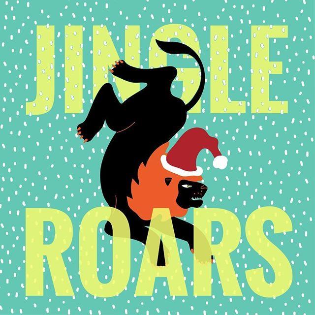 MEERRRYYY XMAAAAS DEPUIS LA SAVANE⠀ 🎄⚡️❄️🎄⚡️❄️🎄⚡️❄️🎄⚡️❄️🎄⚡️❄️⠀ .⠀ .⠀ Jingle roars jingle roars 🎵🎶 ⠀ Prix du jeu de mots 2019.