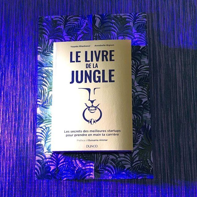 🐾Le lancement du LIVRE DE LA JUNGLE c'est ce soir ! ⠀ Demain dans toutes les librairies. ⠀ ⠀ GOLDEN LIMITED EDITION ?⠀ - Non c'est juste l'éclairage⠀ .⠀ @younes698 et @annabellebig⠀ .⠀ .⠀ #livredelajungle #book #jungle #execution #lion #changement #startup #innovation #learning #paris #tech #entrepreneur #training #joinlion #program #corporate #thefamily #goals #backtoschool