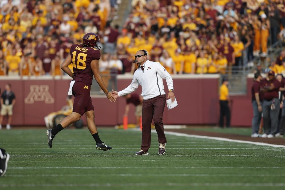 Exclusive Dinner with Gophers Football Coach, P.J. Fleck