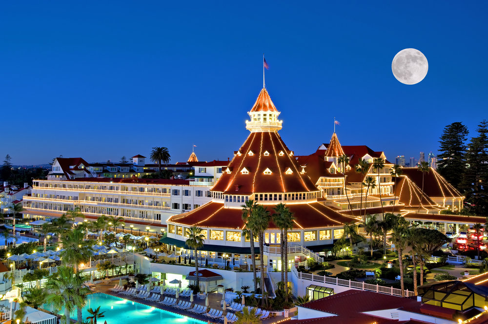 Stay at Hotel del Coronado in San Diego