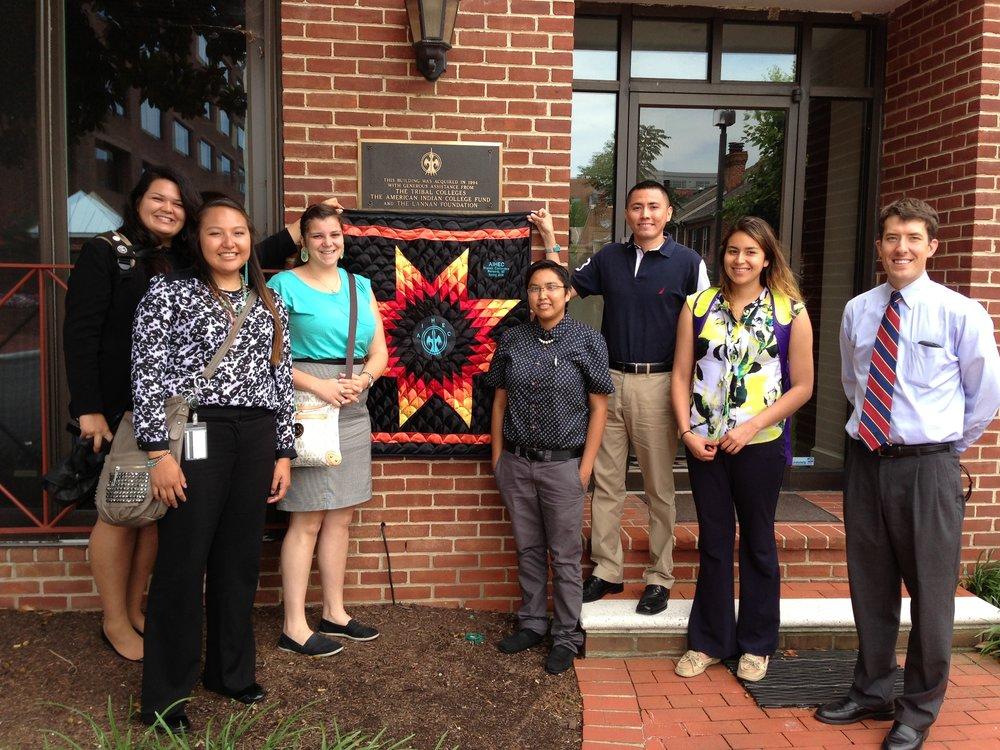 2014 TCUP interns visit AIHEC.jpg