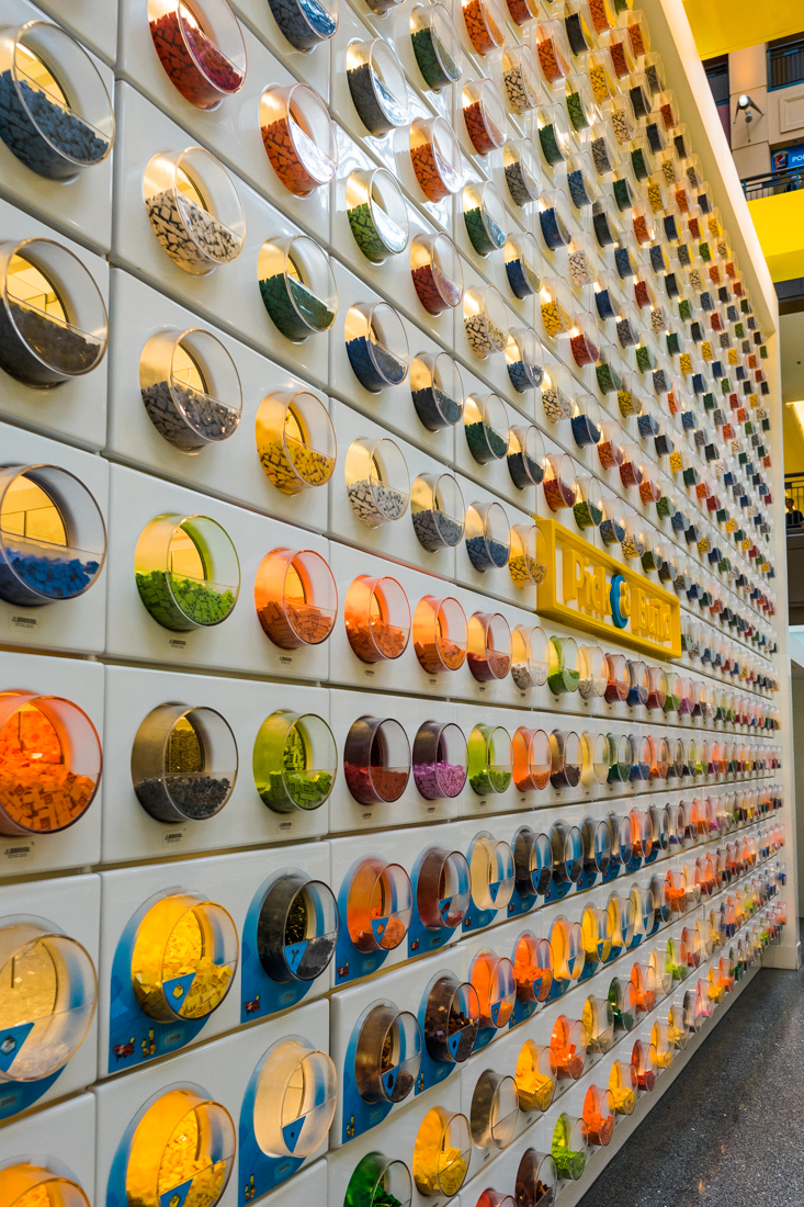 wall of legos!