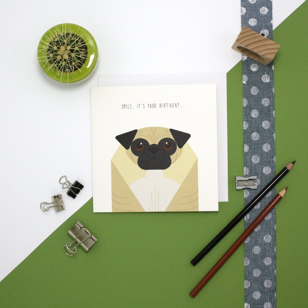 Cher Pratley Cher Pratley is a reliable and methodical graphic illustrator whose speciality is working with muted colour pallets and simplified shapes. Cher produced a selection of 10 great card designs creating some great characters and puns.