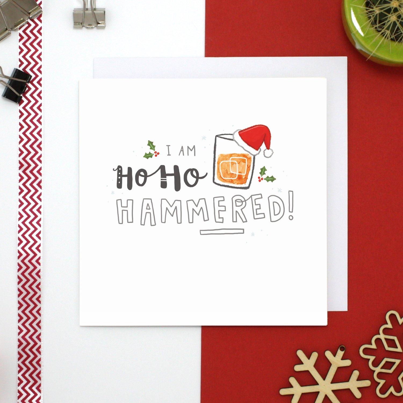 JollySmith — Ho Ho Hammered Christmas Card