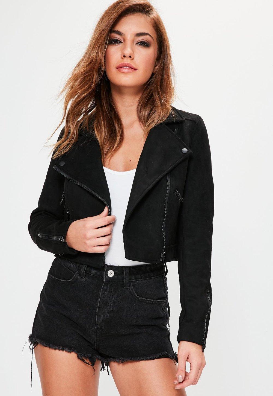 Suedette Jacket - £40