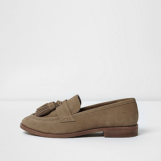 Brown Loafers - £20