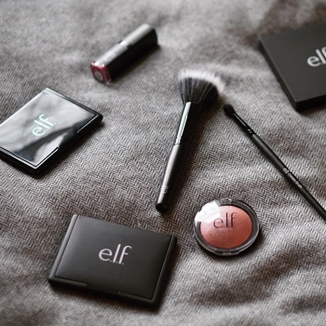 Trying new make up is one of the most fun things to do. I tend to get so stuck with the products I'm used to and forget to try what else is out there. These ELF brushes are some of the best I've tried, and they're so affordable... definitely winning.