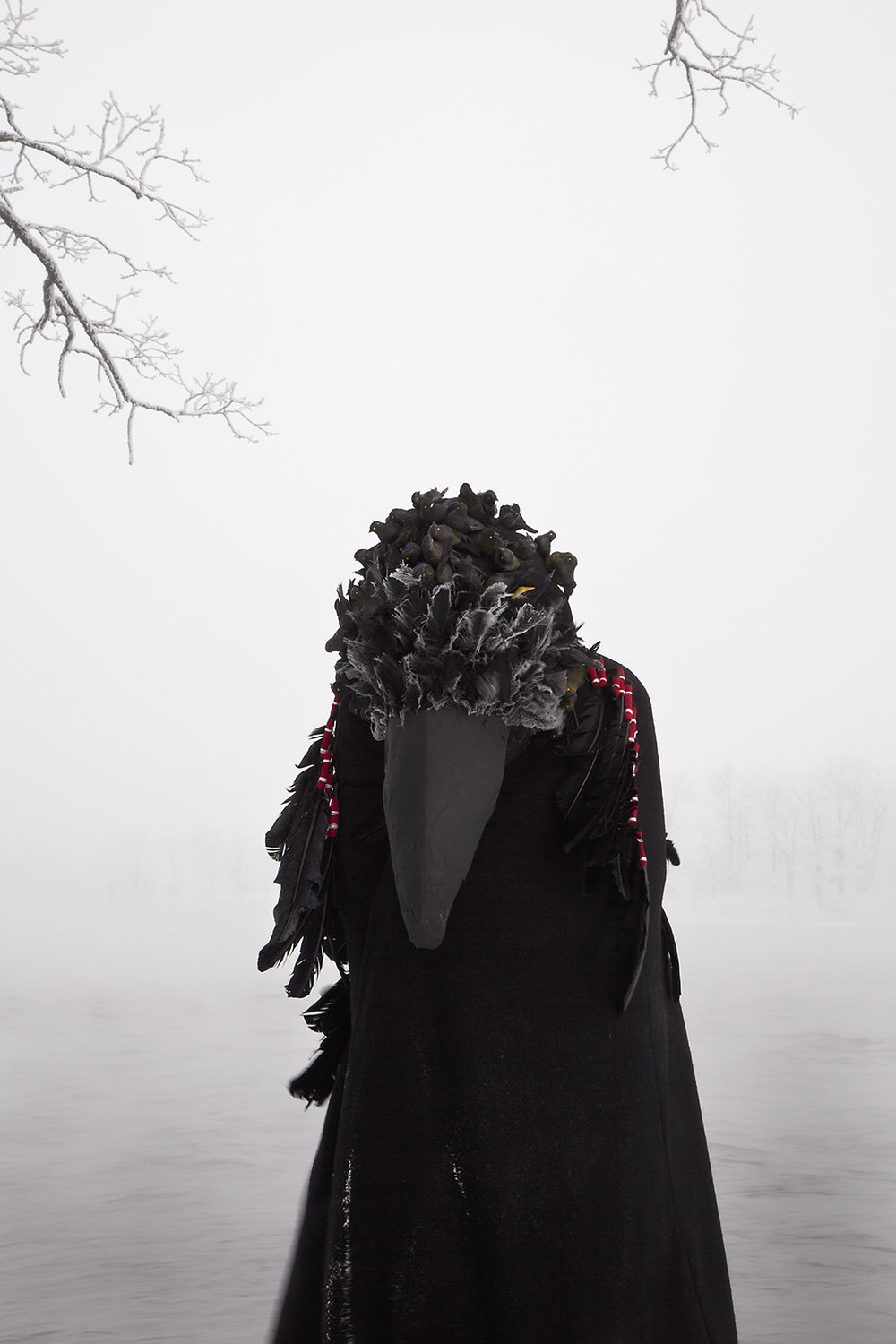 Photo: Meryl McMaster,  Wingeds Calling Variation I , from the  In-Between Worlds  series, 2015. © Meryl McMaster
