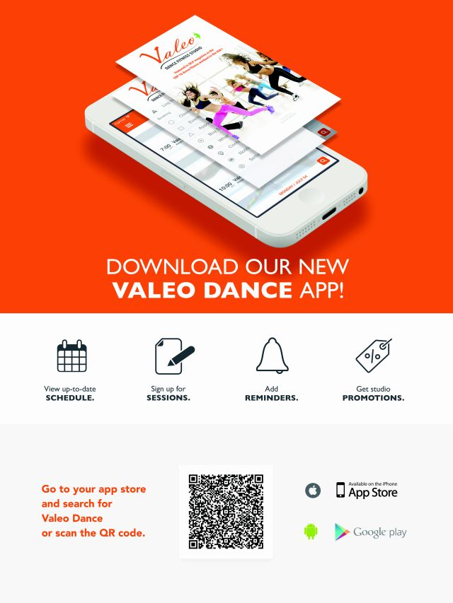 VALEO DANCE app is finally here! Download now for iPhones and